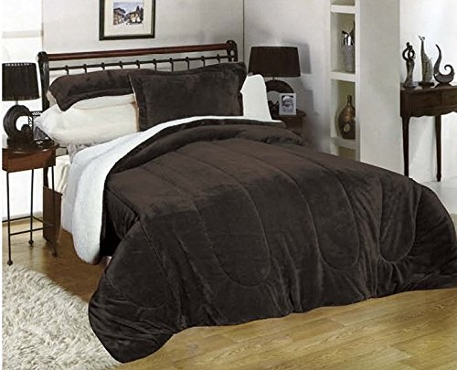 Down Alternative Comforter, flannel sherpa Comforter