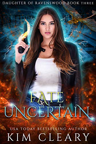 Meagan Greystone struggles with the Dark Arts. A major problem for a witch who can raise the dead. Now something dark is lurking in the city, one that might be too powerful for her. Fate Uncertain (Daughter of Ravenswood Book 3) by Kim Cleary