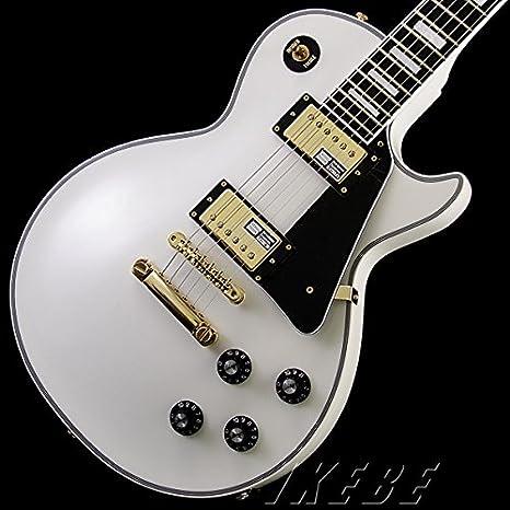 Edwards e-lp-130cd blanco nueva guitarra eléctrica: Amazon.es: Instrumentos musicales