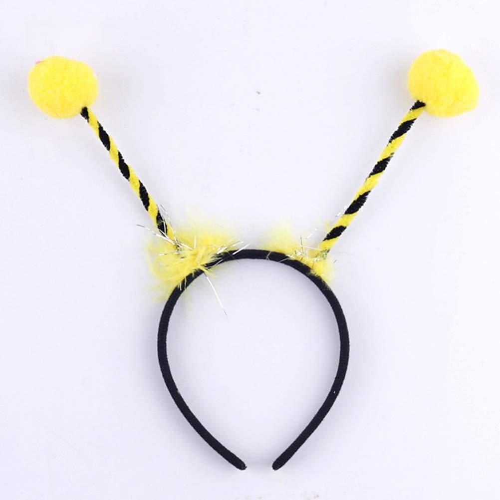 Lurrose 6pcs Tentacle Headband Alien Headband Antenna Hair Band Bee Costume Bee Headband