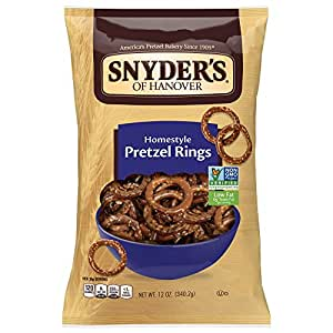 Snyder's of Hanover Homestyle Pretzel Rings, 12 Ounce (packaging may vary)