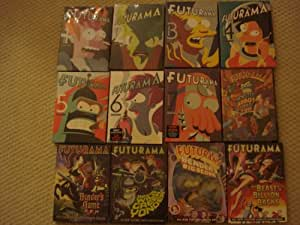 Futurama (Volumes 1-7)/ Bender's Big Game/ Into The Wild Blue Yonder/ The Beast With a Billion Backs/ Benders Big Score and Monster Robot Maniac Fun Collection