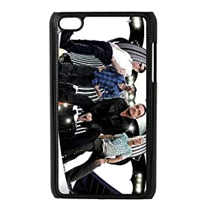 Irish rock band U2 Personalized IPod Touch 4/4G/4th Generation Hard Plastic Shell Case Cover White&Black(HD image)