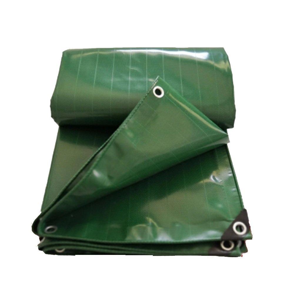 NAN liang 緑のPVCのターポリンプールカバー天蓋布0.42ミリメートル-500グラム/ m2 アウトドア (サイズ さいず : 3*5m) 3*5m  B07K59HTR7