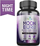MoonBurn Fat Burner Weight Loss Pills for Women and Men. Sleep Aid Supplement, Stimulant-Free, Carb Blocker & Appetite Suppressant with Garcinia Cambogia, Green Tea & CLA – 60 Caps