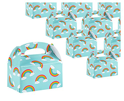 Treat Boxes - 24-Pack Paper Party Favor Boxes,