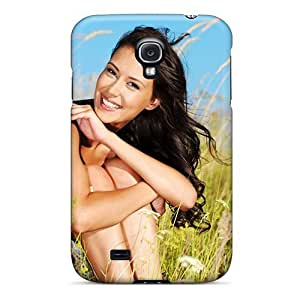 Defender Case For Galaxy S4, Brunettes Girls Fields Outdoors Pattern by icecream design