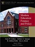 img - for Modern Education Finance and Policy (Peabody College Education Leadership Series) by James W. Guthrie (2006-09-17) book / textbook / text book