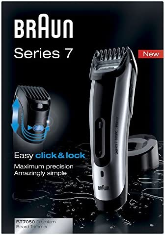 Braun BT7050 - Cortapelo-barbero, recargable, 40 minutos, 6 ...