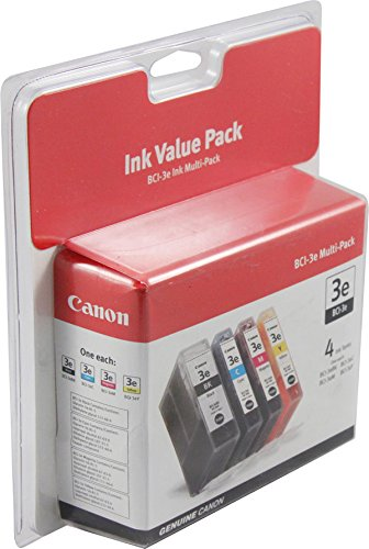 - BCI-3E BLACK AND COLOR MULTIPACK by Canon