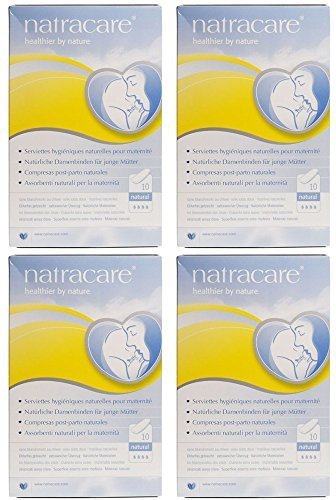 Natracare Organic Maternity Pads Natural - - Natracare - New Mother Maternity Pads | 10pieces | BUNDLE by Natracare