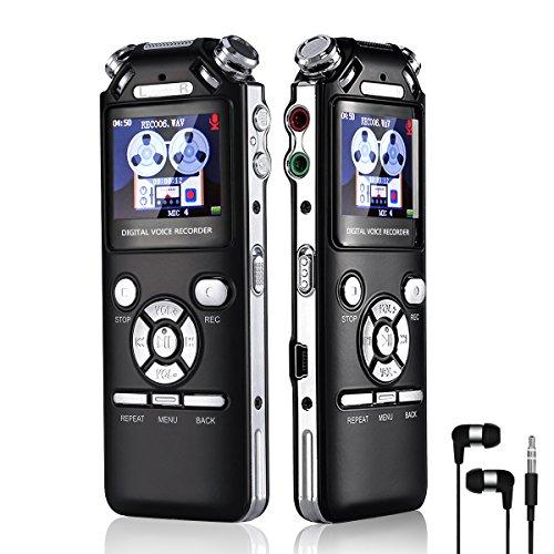hamsung Digital Voice Recorder 16GB
