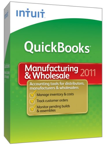 QuickBooks Premier Manufacturing & Wholesale 2011 - [Old Version]