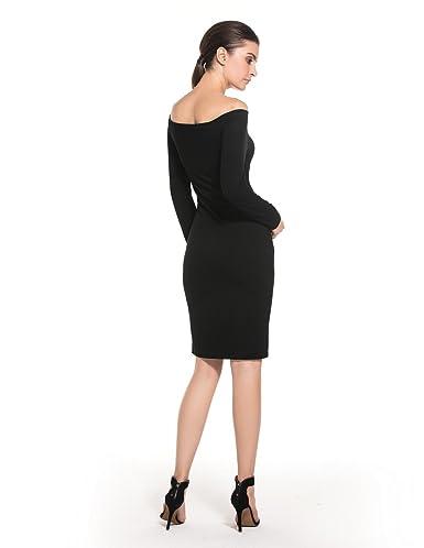 0eec2be84 MODETREND Premamá Vestidos sin Tirantes para Mujeres Mama Embarazo Vestido  de Maternidad para Fiesta Bodas Cóctel  Amazon.es  Ropa y accesorios