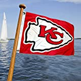 WinCraft Kansas City Chiefs Boat and Golf Cart Flag