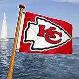 Kansas City Chiefs Boat and Golf Cart Flag