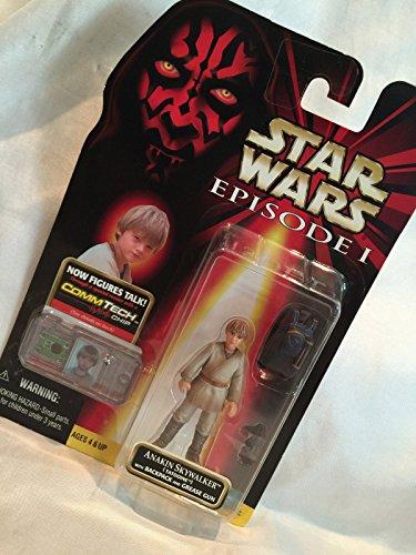 Qiyun Star Wars 1998 Episode 1 Anakin Skywalker Backpack Comm Tech Talk Action Figure 076281840741
