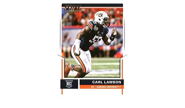 Amazon.com: 2017 Score #379 Carl Lawson Auburn Tigers Rookie ...