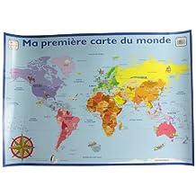 Ma 1ère carte du monde (aff.)