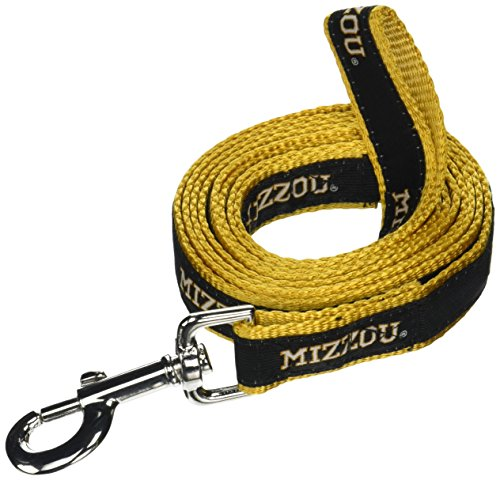 NCAA Missouri Tigers Dog Leash, Medium/Large