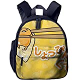 Gudetama Comfy School Bags,Custom Cute Children Shoulder Daypack,Print Backpack For Kids