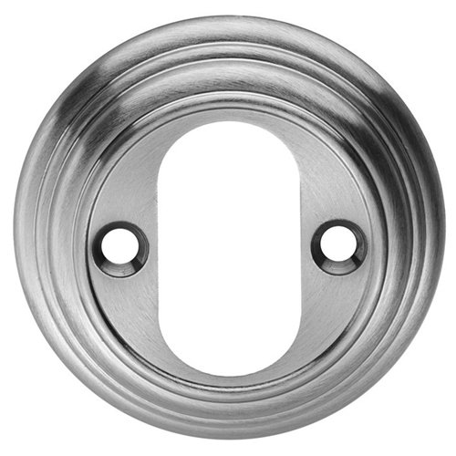- Carlisle Brass DK3CP Delamain Standard Lock Escutcheon 55mm Chrome, Silver
