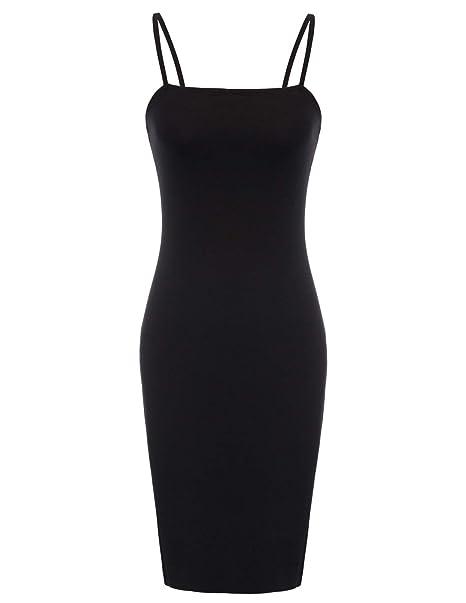 2cf213ed630c5 Kate Kasin Women's Full Slip Control Slip Shaper Dress Slip Black, ...
