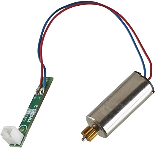 HeliMax Left Rear Motor with LED//Pinion CW 230Si Quadcopter