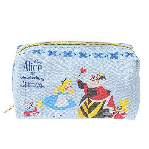 Alice In Wonderland Costume Bag (Disney Japan Story Book Serier Pouch Cosmetic Purse Makeup Bag Costume Accesory Japan Import (Alice in the Wonderland))