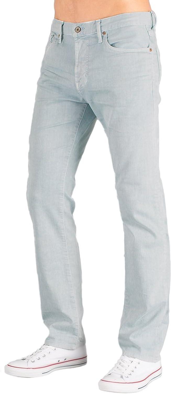 Big Star Denim-Sea Mist Men's Slim Fit Straight Leg Light Blue Denim Jeans