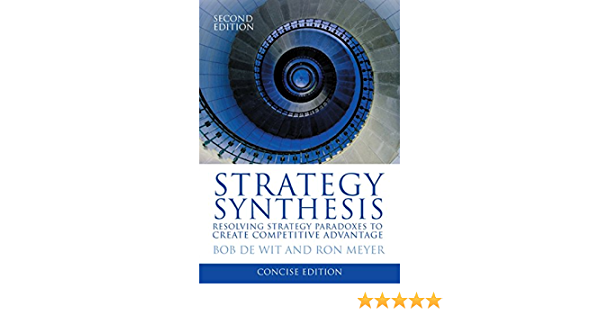 Strategy Synthesis: Concise Version: Amazon.es: Meyer, Ron ...