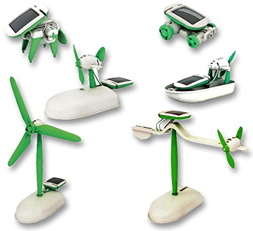 Educational Solar Kits, 6 In 1 Unbranded C-0117