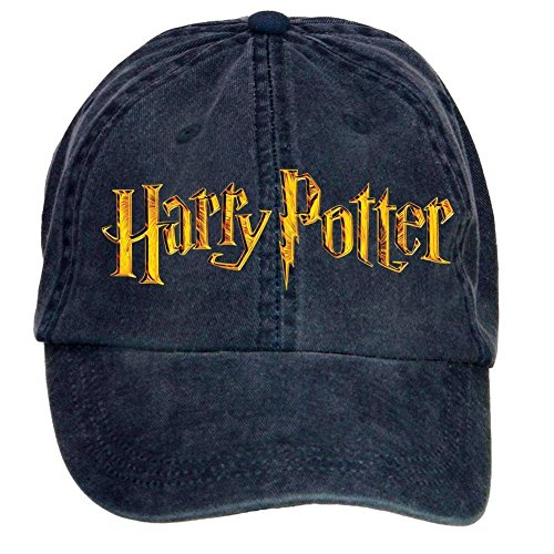 Jidlg Custom Washed Man Cotton Harry Potter Symbol Letters Adjustable Baseball Cap...