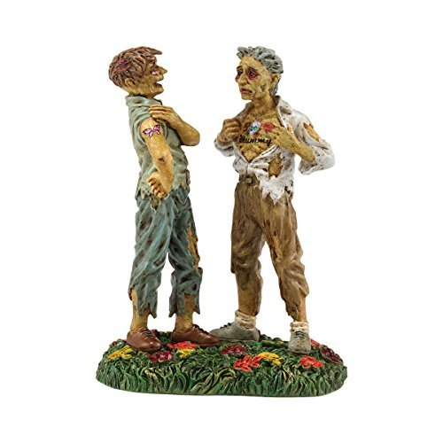 2 X Department 56 Snow Village Halloween Ink Scare Accessory, 1.97-Inch