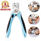 Pet Nail Clippers for Dogs Cats Small Animals - Trimmers with Nail File and Quick Sensor Safety Guard by Bencmate