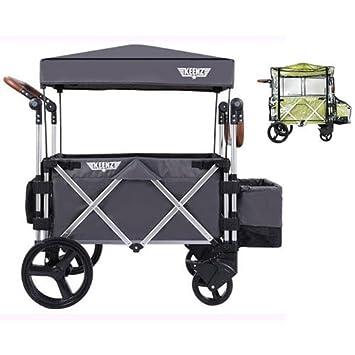 113da3a6b971 Keenz Original 7S Stroller Wagon - Grey with Rain Cover ... keenz original