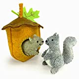 Heidi Boyd | Scampering Squirrels | Whimsy Kits | Enjoy Creating Busy Scampering Squirrels with This All Inclusive Felt Craft Sewing Kit Age 13+
