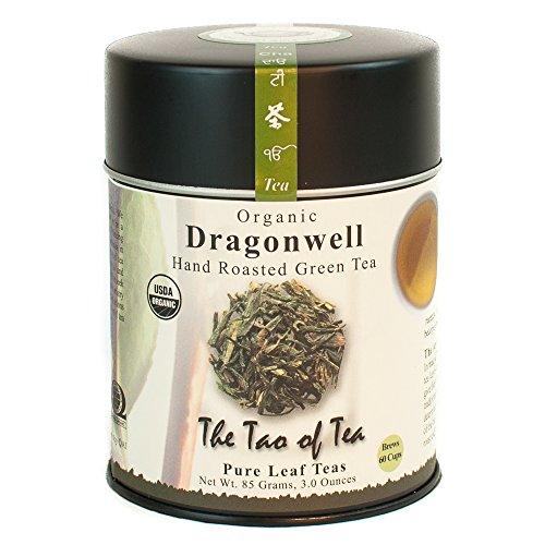 The Tao of Tea, Dragonwell Green Tea, Loose Leaf, 3 Ounce - Dragon Well Ching Tea Green