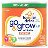 Go & Grow By Similac Sensitive Milk Based Toddler Drink, For Lactose Sensitivity, Large Size Powder, 23.2 Ounces (Pack of 6)
