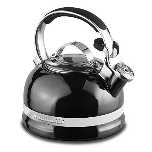 (KitchenAid KTEN20SBPR 2.0-Quart Kettle with Full Stainless Steel Handle and Trim Band - Pyrite)