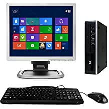 "HP Desktop Computer, Core 2 Duo 3.0 GHz Processor, New 4GB, 160GB, DVD, WiFi Adapter, Windows 10, 19"" LCD Monitor Included (Brands may vary) (Certified Refurbished)"
