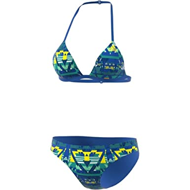 Women S Bikini Adidas Blue Swimming Bk008636b Set Allover Print b7f6gy