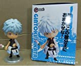 Anime toys hand to do Q version clay Gintama Sakata silver doll model