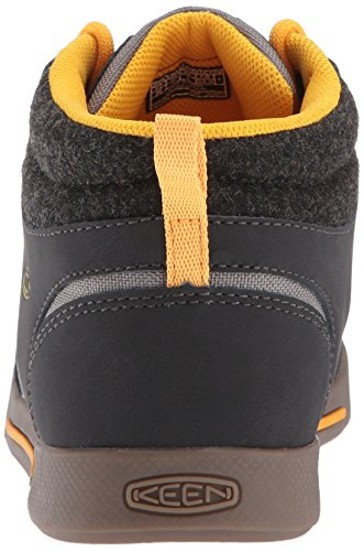 Keen Kids Encanto Wesley II High Top Boat Shoe Raven/Steel Grey