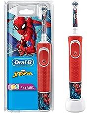 Oral-B Vitality D100 Çocuklar İçin Şarj Edilebilir Diş Fırçası Spiderman