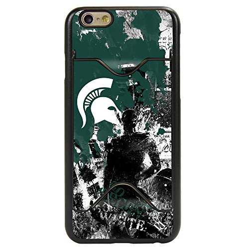 Michigan State Spartans PD Spirit Credit Card Case for iPhone 6 / (Michigan State Credit Card)