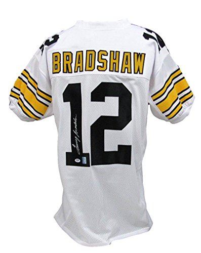 Terry Bradshaw Pittsburgh Steelers Autographed/Signed Jersey PSA/DNA (Terry Bradshaw Signed Jersey)