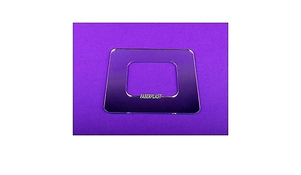 Faberplast FB716 Marco Interruptores Individual Espejo: Amazon.es: Bricolaje y herramientas