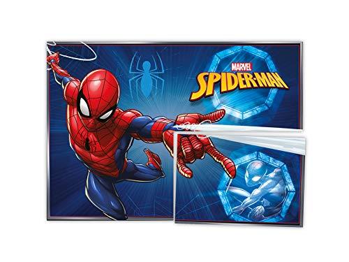 Painel 126x88cm R319 Spider Man Animacao - Pacote Com 01 Un Regina Colorido