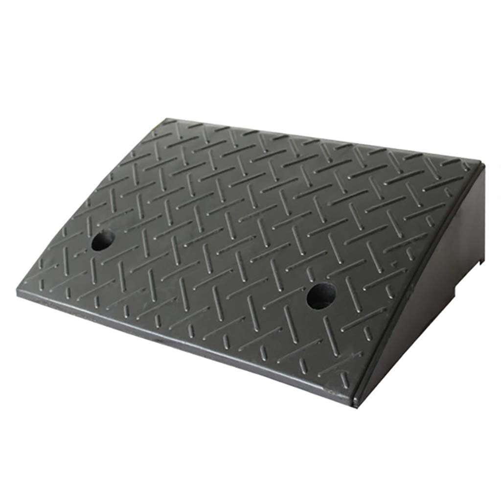 Heavy Duty Rubber Curb Ramps, Wheel Assist Ramp, L49.5*W24.8*H12cm SPLY